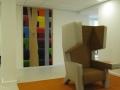 6 Project Kunst Dichtbij Rabobank Utrecht Title Overvecht 7  H 230 x B 120 Acrylic on wood Astrid MG Rubie