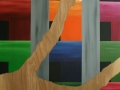 10 Title Overvecht 10 120 x 230 Acrylic on wood Astrid MG Rubie  2010 Ministry of Defence Utrecht