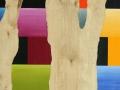 12 Title Overvecht 12 Acrylic on birchwood 60 x  40 cm  Astrid MG Rubie 2010 Collection Rabobank