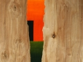 16 Title Overvecht 16 42,2 x 74,7 Acrylic on birchwood 2010 Astrid MG Rubie Private collection Utrecht