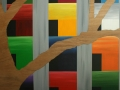 8 Title Overvecht 8 Acrylic on wood 120 x 230 Astrid MGRubie  2010 Ministry of Defence Utrecht