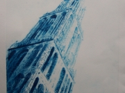 1-Title-Dom-Tower-Drypoint-20x30-2006-Astrid-MG-Rubie