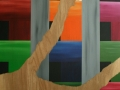 10 Overvecht 10 120 x 230 Acrylic on wood Astrid MG Rubie  2010 Corporate collection Amsterdam