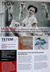 Multi Solo TETEM Curator Robbert Roos Astrid MG Rubie