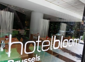 Project Art n Bloom! Hotel Bloom!  Brussel Belgie