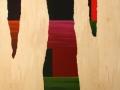 19 Overvecht 19  150 x  120 cm Acrylic on birchwood Astrid M G Rubie 2011