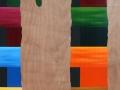 21 Overvecht 21 230 x 120 cm Acrylic on wood Astrid M G Rubie 2011