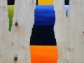 13 Overvecht 13 60 x 40 cm Acrylic on birchwood Astrid MG Rubie  2010