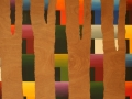 17 Overvecht 17 Acrylic on wood 120 x  230 cm 2011 Astrid M G Rubie Private collection Utrecht