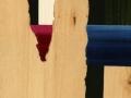 36 Overvecht 36 H 15 x B 10,5 cm acryl op plywood Astrid MG Rubie 2016