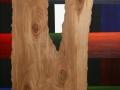 42 Overvecht 42 H 30 x B 30 cm Acrylverf op berkenhout Astrid MG Rubie 2017