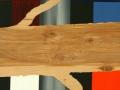 45 Overvecht 45 H 44 x B 48 cm Acrylverf op berkenhout Astrid MG Rubie 2017-2018